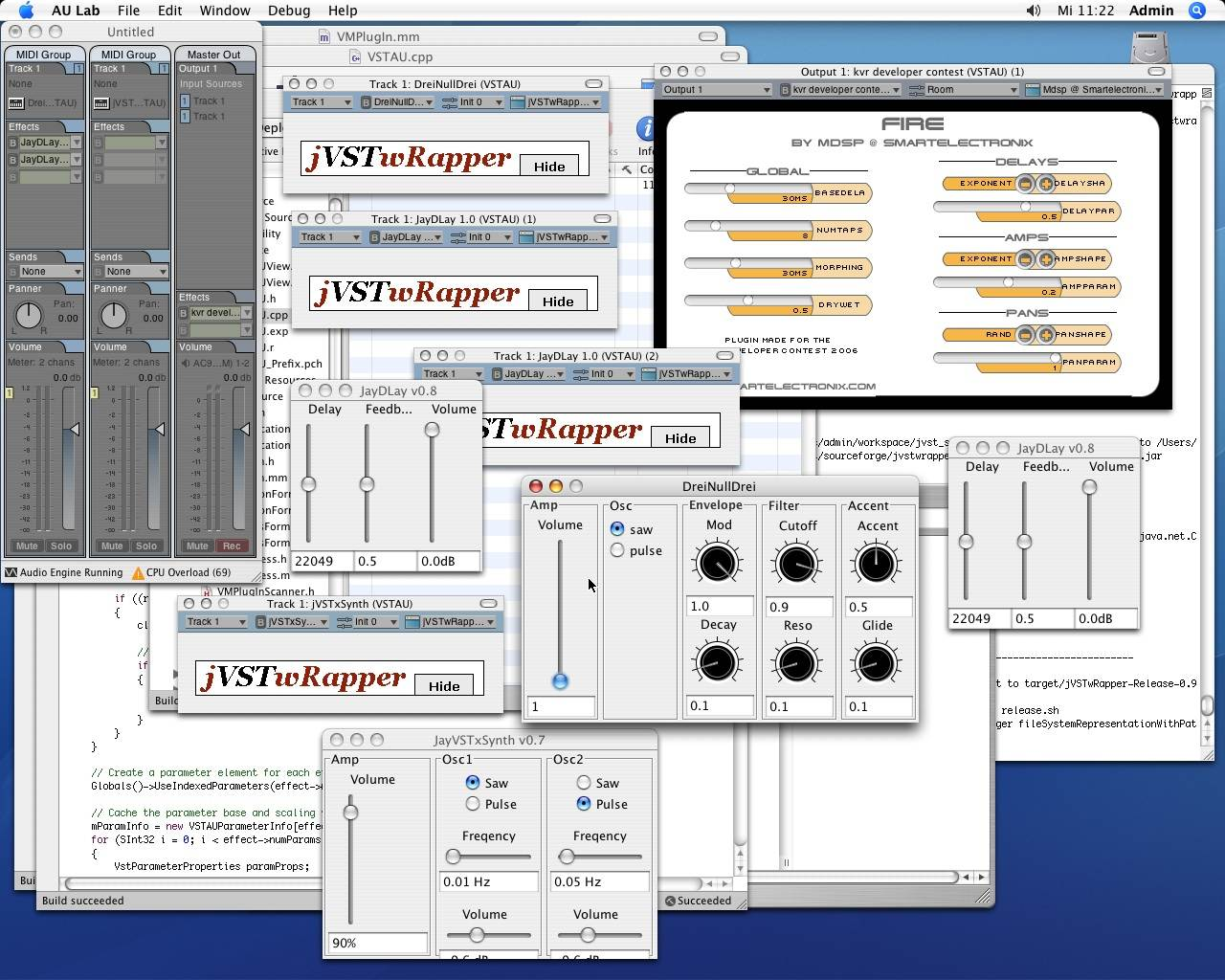 jVSTwRapper - Java-Based Audio Plug-Ins